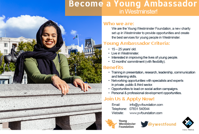 Young Ambassador Programme 2018 – Recruiting Now!