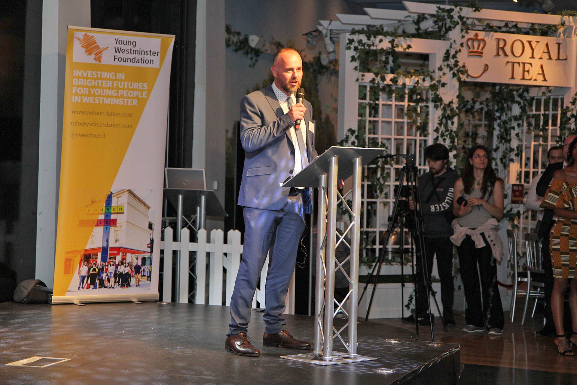 YWF Launch: 'City Within A City' event at Madame Tussauds