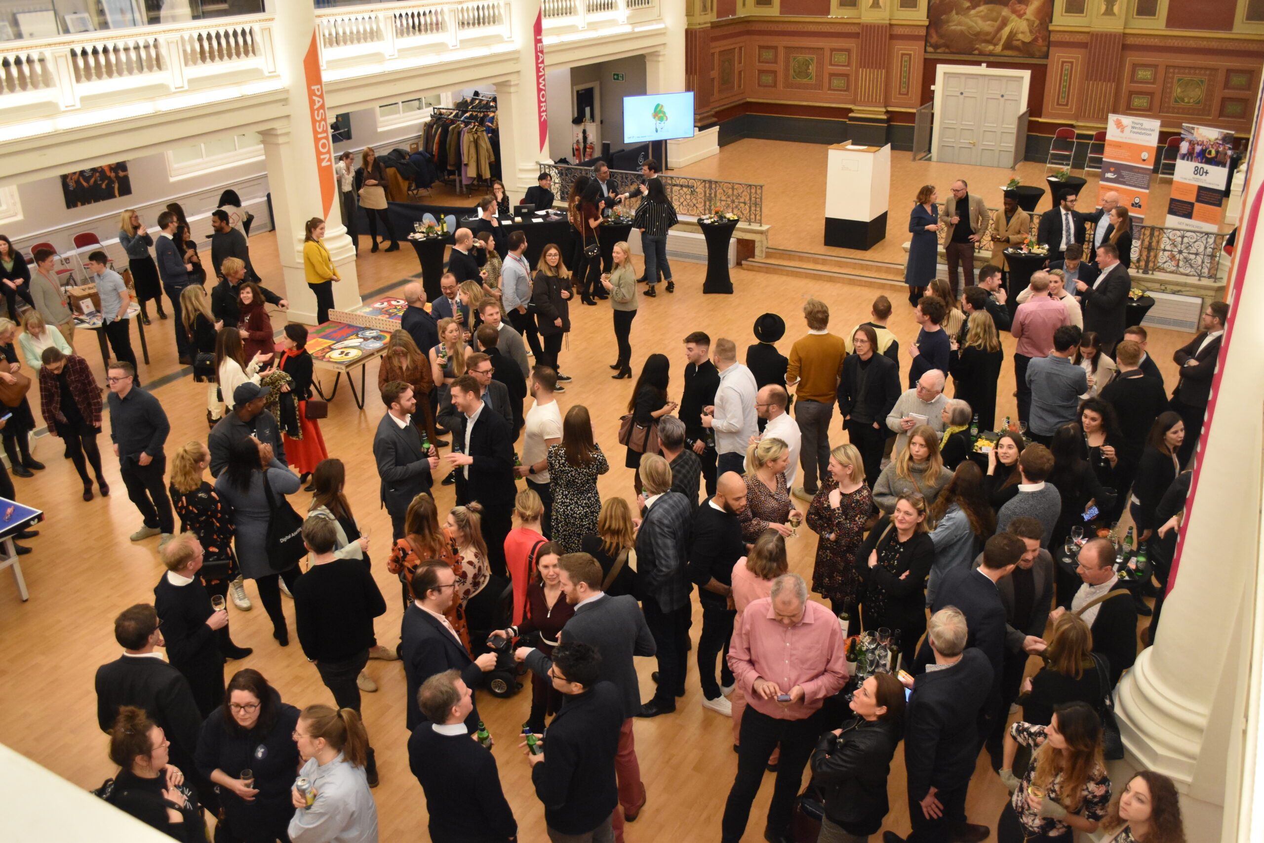 The Westminster Art Collective raises £19k for the YWF community