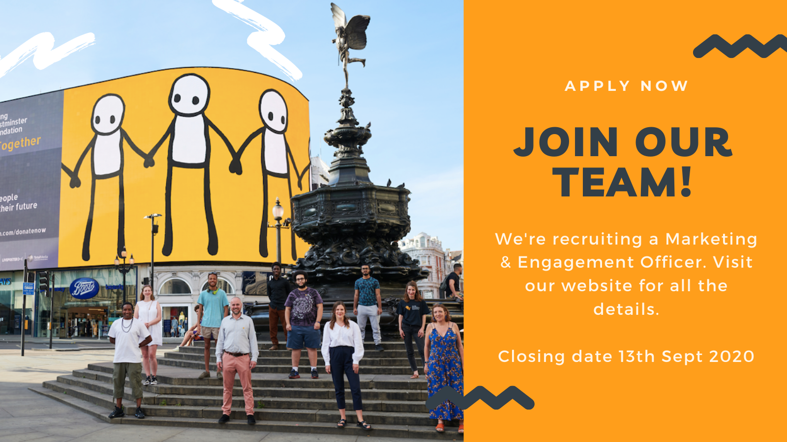 Join the YWF team as a Marketing & Engagement Officer!